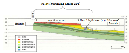 Figure 5-1 Schematic Layout of Unit Building and Ground Layer